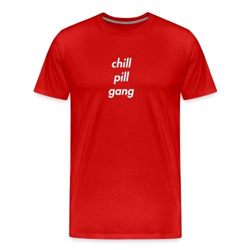 Chill Pill Gang Red - Premium-T-shirt herr