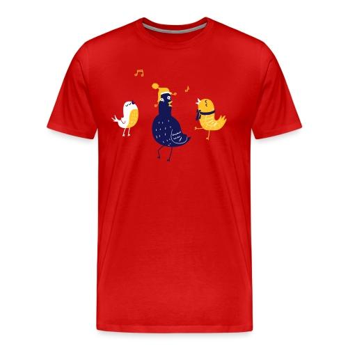 Vögelchen - Männer Premium T-Shirt