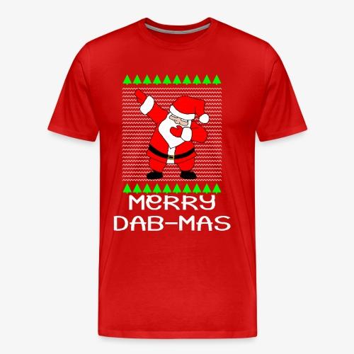 Merry Dabmas Ugly Xmas - Männer Premium T-Shirt