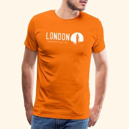 London Vegetarian Crew - Men's Premium T-Shirt