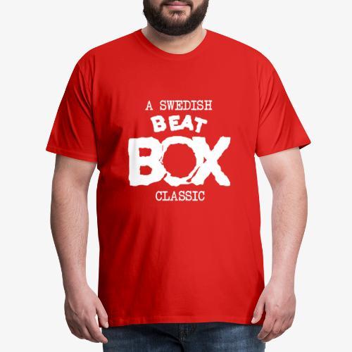 Beat Box - Premium-T-shirt herr