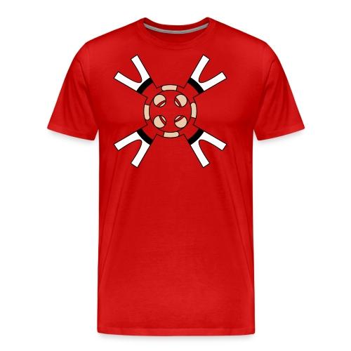 Casteller 4 Poañuelo - Mannen Premium T-shirt