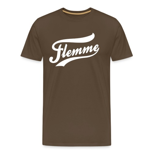 FlemmeBlanc png - T-shirt Premium Homme