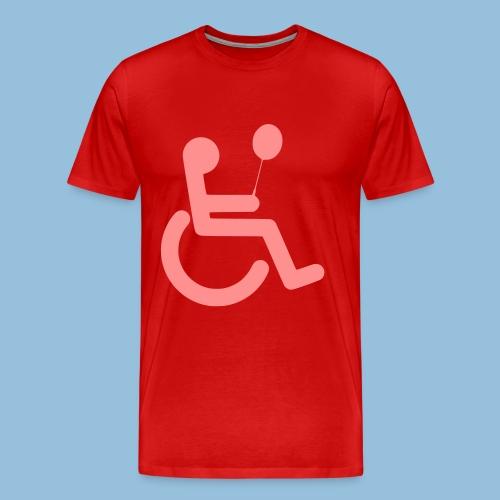 Baloonwheelchair2 - Mannen Premium T-shirt