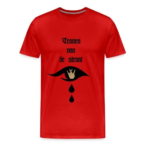 Tranen van de straat - Mannen Premium T-shirt