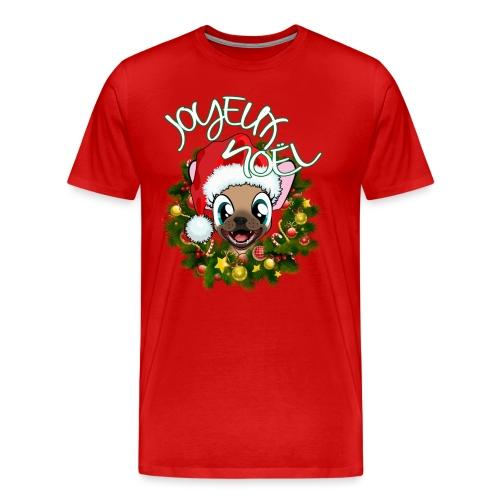 FRENCHIE NOEL - T-shirt Premium Homme
