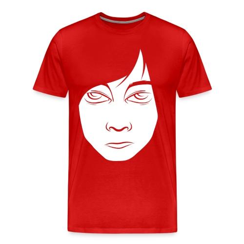 red - Herre premium T-shirt