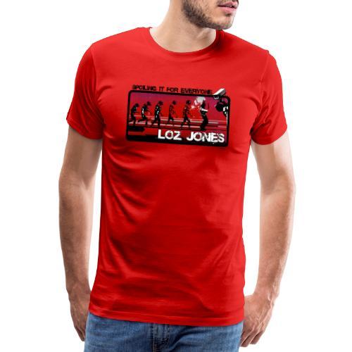 'Spoiling It For Everyone' Album Design - Men's Premium T-Shirt