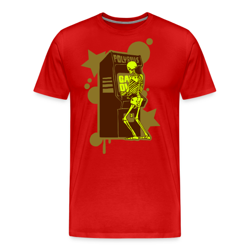 Hi-Score Gold and Neon - Koszulka męska Premium