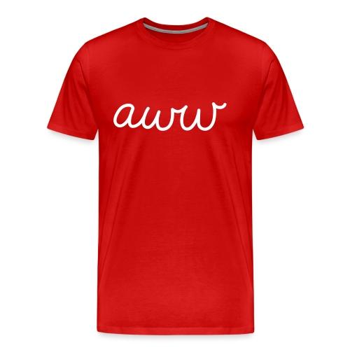 aww - Männer Premium T-Shirt