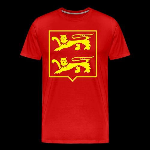 LIONS DE NORMANDIE - T-shirt Premium Homme