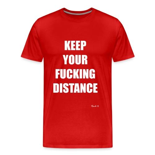 DISTANCE - Men's Premium T-Shirt