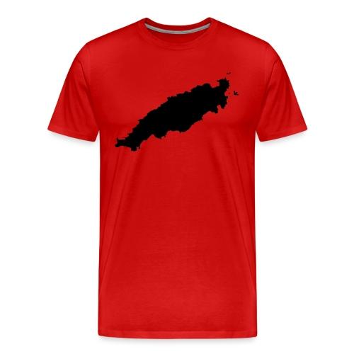 Tobago Silhouette - Men's Premium T-Shirt