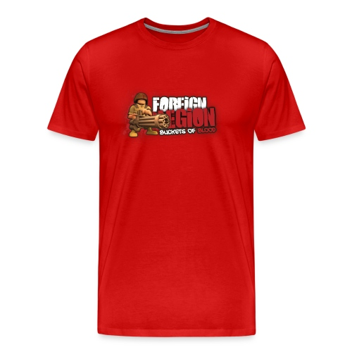 Foreign Legion: Buckets of Blood Red - Men's Premium T-Shirt