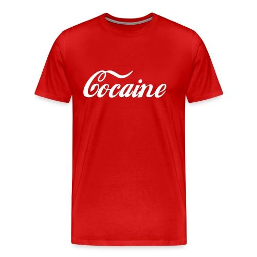 Cocaine - Mannen Premium T-shirt