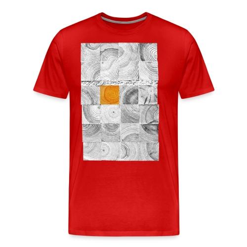 Cubes de Bois - T-shirt Premium Homme
