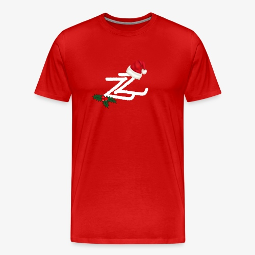 Zip Zap Christmas Merch - Premium T-skjorte for menn