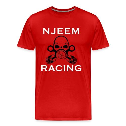 logo mit schrift - Männer Premium T-Shirt