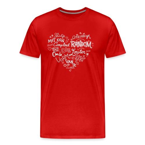Hart - Mannen Premium T-shirt