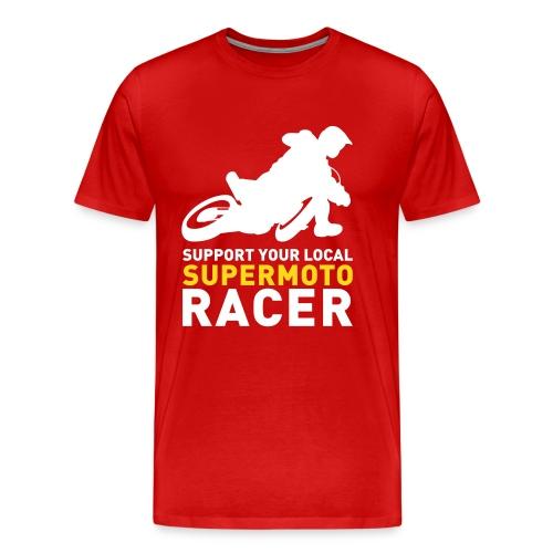 Tshirt Support Racer - Noir - T-shirt Premium Homme