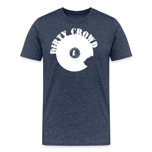DC LOGO VIT - Premium-T-shirt herr