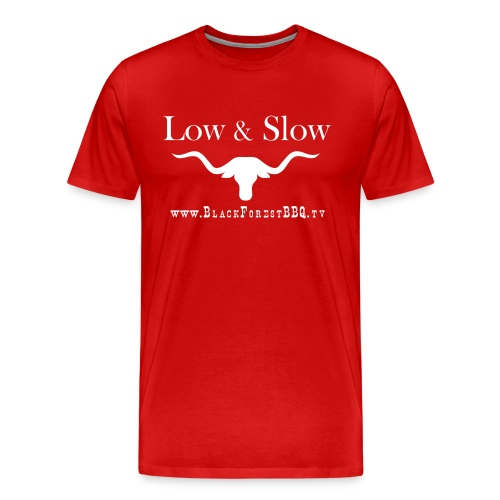 Low Slow white - Männer Premium T-Shirt