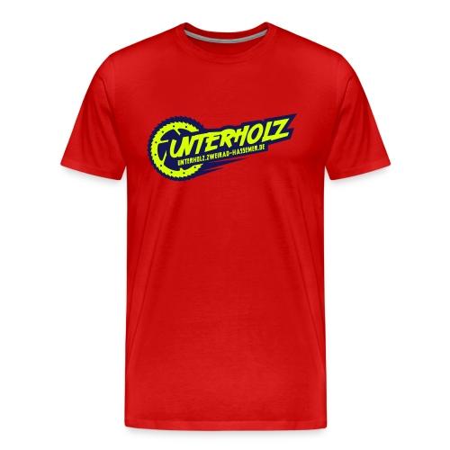 unterholz-downhill-logo - Männer Premium T-Shirt