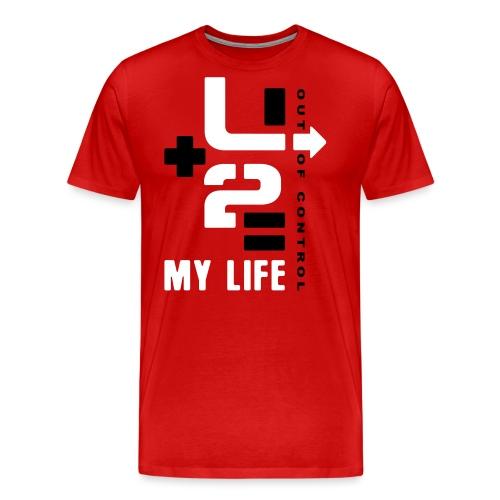 U 2 OUT OF CONTROL - Men's Premium T-Shirt
