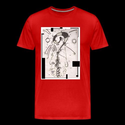 The Shah Do Ha Gallery Of Heaven s Pillar - Men's Premium T-Shirt