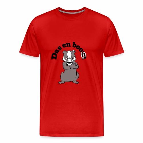 Das en Boos - Mannen Premium T-shirt