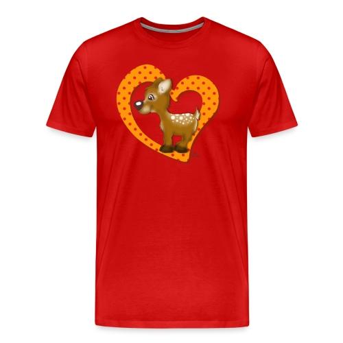Kira Kitzi Mandarine - Männer Premium T-Shirt