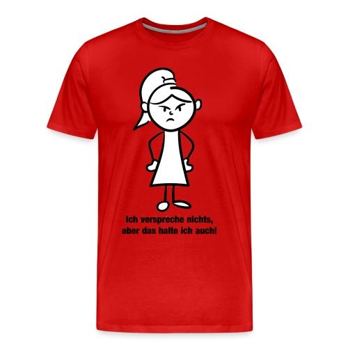 Ich verspreche - Männer Premium T-Shirt
