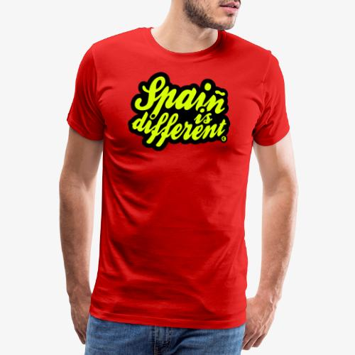 Spaiñ is different - Camiseta premium hombre