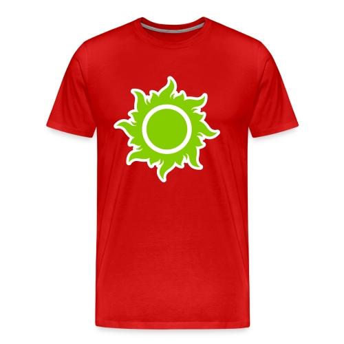 feurige Sonne sunshine Sommer summer Stern Star - Men's Premium T-Shirt