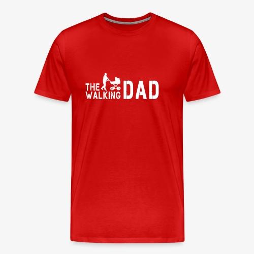 The Walking Dad V1 - Männer Premium T-Shirt