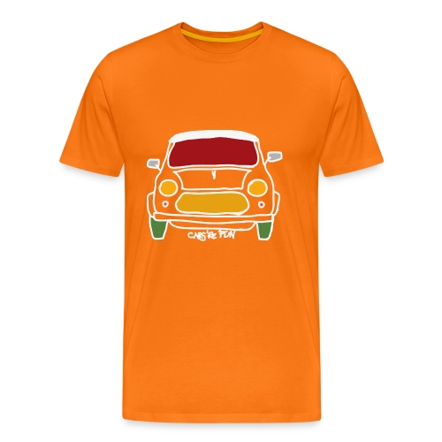 Voiture ancienne anglaise - T-shirt Premium Homme