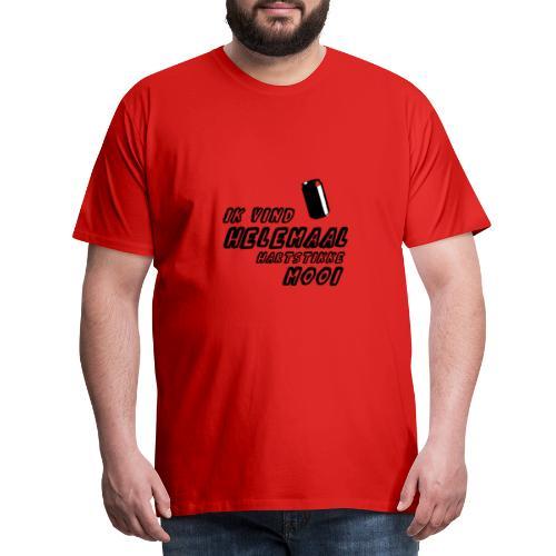 Ik Vind Helemaal Mooi - Blikje in de Water Gekkies - Mannen Premium T-shirt