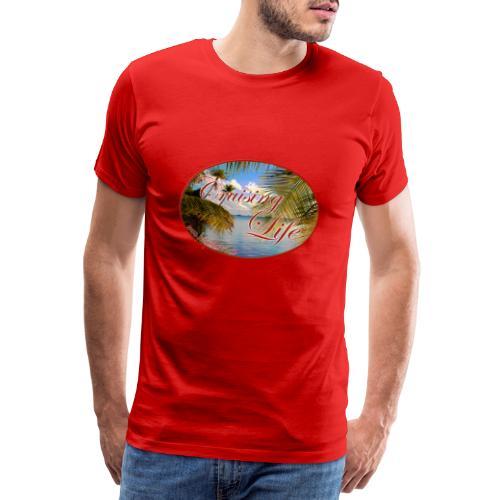 Segeln in der Südsee - Männer Premium T-Shirt