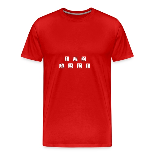 ITZABDI NEW SIRTS - Men's Premium T-Shirt