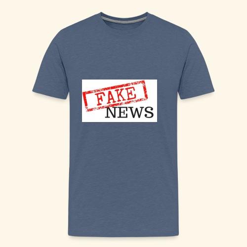 fake news - Men's Premium T-Shirt
