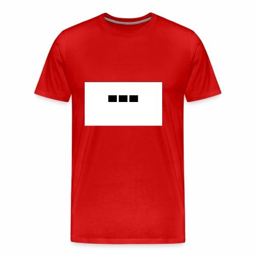 dot dot dot - Men's Premium T-Shirt
