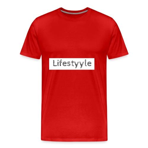 Lifestyyle weiss - Männer Premium T-Shirt