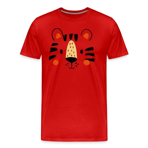 Tigre Mimi - T-shirt Premium Homme