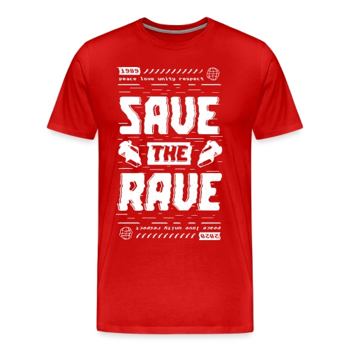 Save The Rave - Men's Premium T-Shirt