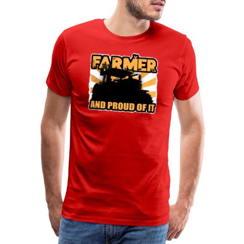Farmer, and proud of it - Mannen Premium T-shirt