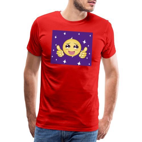 carita feliz optimista - Camiseta premium hombre