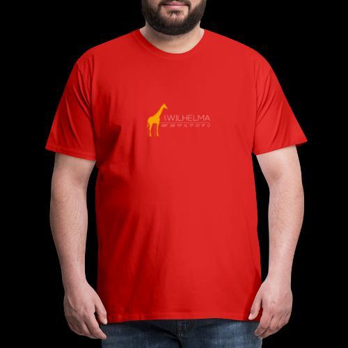 Wilhelma Giraffe - Männer Premium T-Shirt