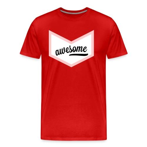 Awesome Sign Banner - Männer Premium T-Shirt