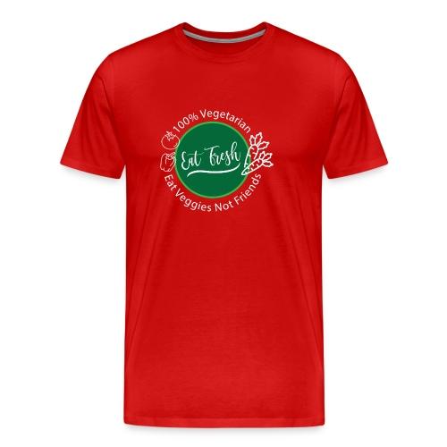 Gezond eten vegetarische t-shirt - Mannen Premium T-shirt