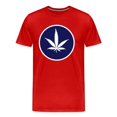 Hanferlaubnis - Männer Premium T-Shirt